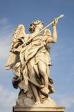 οι άγγελοι αγγέλου γεφυρώνουν τη λόγχη Ρώμη Στοκ φωτογραφία με δικαίωμα ελεύθερης χρήσης
