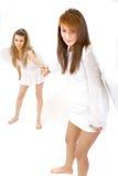 οι άγγελοι το χέρι δύο στοκ φωτογραφίες με δικαίωμα ελεύθερης χρήσης