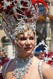Οι άνθρωποι γιορτάζουν το Christopher Στοκ Εικόνες