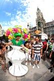 Οι άνθρωποι γιορτάζουν το Christopher Στοκ Φωτογραφία