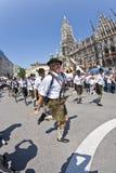 Οι άνθρωποι γιορτάζουν το Christopher Στοκ εικόνες με δικαίωμα ελεύθερης χρήσης