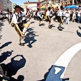 Οι άνθρωποι γιορτάζουν το Christopher Στοκ φωτογραφία με δικαίωμα ελεύθερης χρήσης