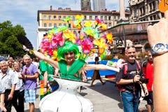 Οι άνθρωποι γιορτάζουν το Christopher Στοκ Φωτογραφίες