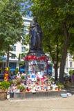Οι άνθρωποι θυμούνται το Μάικλ Τζάκσον Στοκ φωτογραφία με δικαίωμα ελεύθερης χρήσης