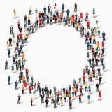 Οι άνθρωποι ομάδας διαμορφώνουν τον κύκλο Στοκ φωτογραφίες με δικαίωμα ελεύθερης χρήσης