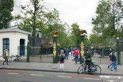 Οι άνθρωποι πηγαίνουν στο ζωολογικό κήπο των artis Άμστερνταμ Στοκ φωτογραφία με δικαίωμα ελεύθερης χρήσης
