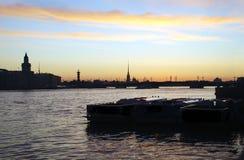 Οι άσπρες νύχτες Στοκ εικόνες με δικαίωμα ελεύθερης χρήσης