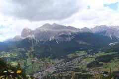 Οι Άλπεις Dolomiti Στοκ Φωτογραφία