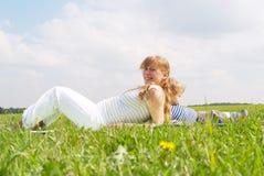 οι έγκυες νεολαίες γυ Στοκ φωτογραφία με δικαίωμα ελεύθερης χρήσης
