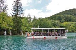 οι λίμνες κληρονομιάς της Κροατίας εμφανίζουν λίστα τον εθνικό κόσμο της ΟΥΝΕΣΚΟ plitvice πάρκων Στοκ εικόνες με δικαίωμα ελεύθερης χρήσης