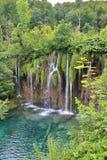 οι λίμνες κληρονομιάς της Κροατίας εμφανίζουν λίστα τον εθνικό κόσμο της ΟΥΝΕΣΚΟ plitvice πάρκων Στοκ φωτογραφίες με δικαίωμα ελεύθερης χρήσης