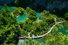 οι λίμνες κληρονομιάς της Κροατίας εμφανίζουν λίστα τον εθνικό κόσμο της ΟΥΝΕΣΚΟ plitvice πάρκων Στοκ Φωτογραφίες