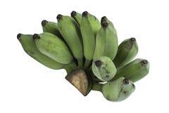 Οι ακατέργαστες μπανάνες Στοκ φωτογραφία με δικαίωμα ελεύθερης χρήσης