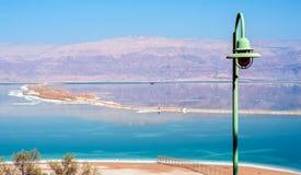 Οι ακτές της νεκρής θάλασσας στοκ εικόνες