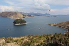 Οι ακτές της Isla del Sol στοκ φωτογραφίες με δικαίωμα ελεύθερης χρήσης