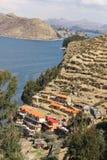 Οι ακτές της Isla del Sol στοκ εικόνα με δικαίωμα ελεύθερης χρήσης