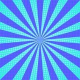 Οι ακτίνες ήλιων σκάουν το αναδρομικό υπόβαθρο τέχνης διανυσματική απεικόνιση