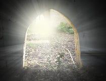 Οι ακτίνες του φωτός Στοκ φωτογραφία με δικαίωμα ελεύθερης χρήσης