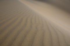 οι αμμόλοφοι στρώνουν με ά Στοκ φωτογραφίες με δικαίωμα ελεύθερης χρήσης