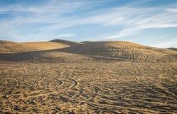 Οι αμμόλοφοι άμμου Στοκ εικόνα με δικαίωμα ελεύθερης χρήσης