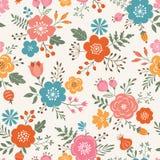 οι ανθοδέσμες υποκύπτουν άνευ ραφής μικρό προτύπων λουλουδιών αριθμού Στοκ Εικόνα