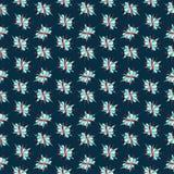 οι ανθοδέσμες υποκύπτουν άνευ ραφής μικρό προτύπων λουλουδιών αριθμού Στοκ Φωτογραφίες