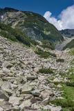 Οι απότομες κλίσεις του βουνού Pirin Στοκ εικόνα με δικαίωμα ελεύθερης χρήσης
