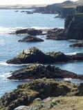 Οι απότομοι βράχοι σε Arnarstapi, Ισλανδία Στοκ εικόνα με δικαίωμα ελεύθερης χρήσης