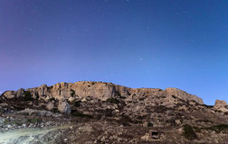 Οι απότομοι βράχοι Mgiebah Στοκ φωτογραφία με δικαίωμα ελεύθερης χρήσης