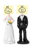 οι αριθμοί νυφών καλλωπίζουν το γάμο Στοκ φωτογραφίες με δικαίωμα ελεύθερης χρήσης