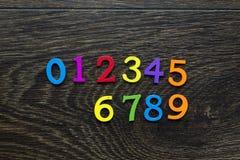 Οι αριθμοί στο πάτωμα Στοκ εικόνα με δικαίωμα ελεύθερης χρήσης