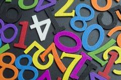 Οι αριθμοί στο πάτωμα Στοκ Φωτογραφία