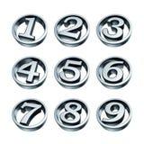 οι αριθμοί τηλεφωνούν στ&omi Στοκ εικόνα με δικαίωμα ελεύθερης χρήσης