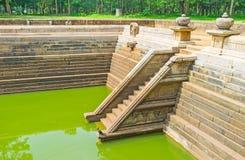 Οι αρχαίες λίμνες στη Σρι Λάνκα Στοκ εικόνες με δικαίωμα ελεύθερης χρήσης