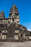 Οι αρχαίες καταστροφές ενός ιστορικού Khmer ναού στο ναό compl Στοκ Εικόνες