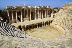 Οι αρχαίες καταστροφές Hierapolis Στοκ εικόνα με δικαίωμα ελεύθερης χρήσης
