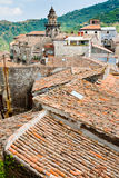 οι αρχαίες στέγες εκκλ&e στοκ φωτογραφία με δικαίωμα ελεύθερης χρήσης