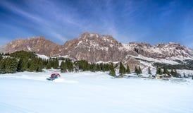 Οι αυστριακές Άλπεις το χειμώνα Στοκ Φωτογραφίες