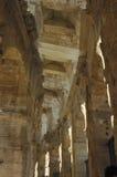Οι αψίδες του αμφιθεάτρου Arles Στοκ Φωτογραφία