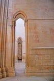 Οι αψίδες στο μοναστήρι Batalha Στοκ εικόνες με δικαίωμα ελεύθερης χρήσης