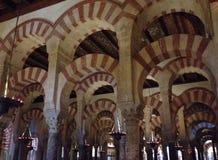 Οι αψίδες Mezquita Στοκ Εικόνα