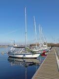 οι βάρκες πλέουν μικρό Στοκ εικόνα με δικαίωμα ελεύθερης χρήσης