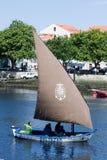 οι βάρκες conde κάνουν ΙΧ παραδοσιακό vila συνάντησης Στοκ φωτογραφίες με δικαίωμα ελεύθερης χρήσης