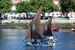 οι βάρκες conde κάνουν ΙΧ παραδοσιακό vila συνάντησης Στοκ Εικόνες