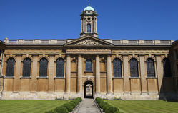 Οι βασίλισσες College Oxford Στοκ φωτογραφία με δικαίωμα ελεύθερης χρήσης