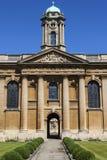 Οι βασίλισσες College Oxford Στοκ εικόνα με δικαίωμα ελεύθερης χρήσης