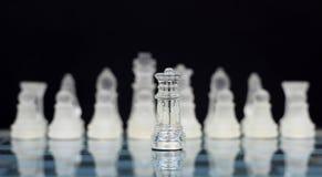 Οι βασιλιάδες - πόλεμος σκακιού Στοκ εικόνες με δικαίωμα ελεύθερης χρήσης
