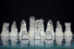 Οι βασιλιάδες - πόλεμος σκακιού Στοκ φωτογραφίες με δικαίωμα ελεύθερης χρήσης