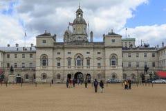 Οι βασιλικές φρουρές αλόγων που χτίζουν, Λονδίνο Στοκ φωτογραφία με δικαίωμα ελεύθερης χρήσης