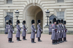 Βασιλικές φρουρές Στοκ εικόνα με δικαίωμα ελεύθερης χρήσης